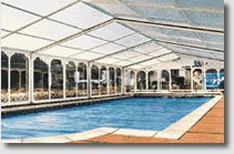 Slidaway Telescopic Swimming Pool Enclosures